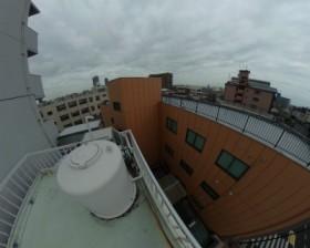 高架水槽の様子