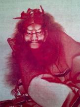 北斎 あべのハルカス 鍾馗図