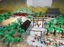 レゴ 福男選び 西宮神社建物あり