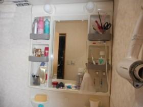 化粧鏡の様子