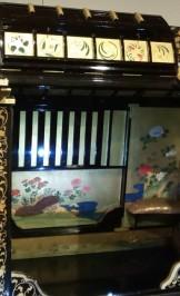 伊達藩お輿入れ乗物 京都文化博物館
