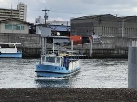 大阪市渡し船 大正区から港区へ