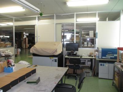 クリーン作業室、またまた床工事です