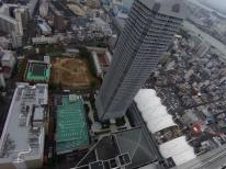 ホテル大阪ベイタワーからの眺め