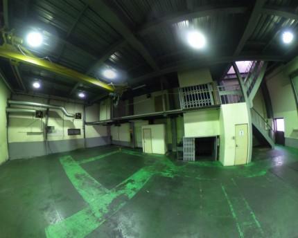 1階作業場の様子