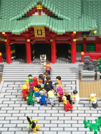レゴ福男選び西宮神社 ゴール
