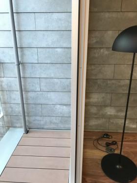 壁 リビングとバルコニー注文住宅 大阪マサキ工務店 オープンハウス