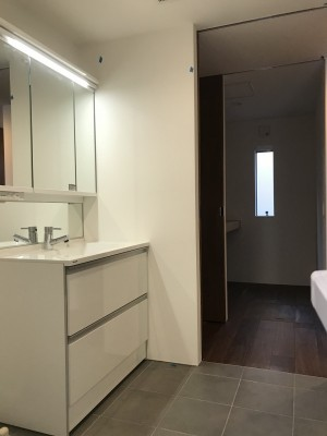 洗面室暗めbefore大阪マサキ工務店 注文住宅 オープンハウス