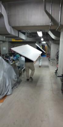 ブログ用写真 石膏ボード搬入 20210910 マサキ工務店