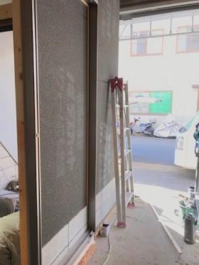 壁 下地材貼付け20200915マサキ工務店