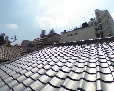 屋根瓦全景の様子